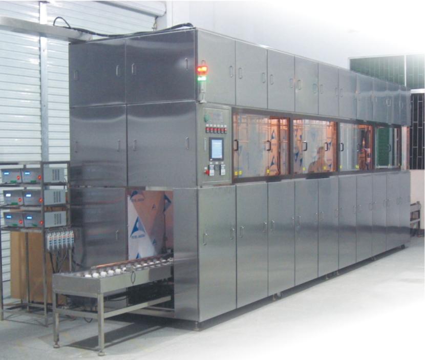 CF-TFT 玻璃基板真空镀膜前清洗机